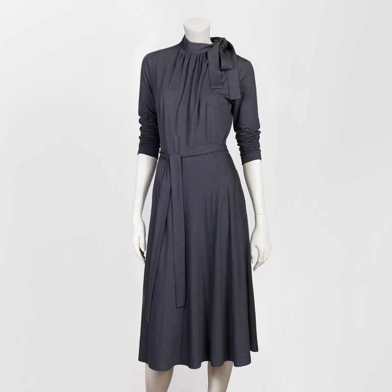 ELISABETA DRESS IN GREY