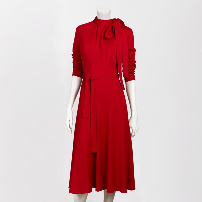 ELISABETA DRESS IN RED