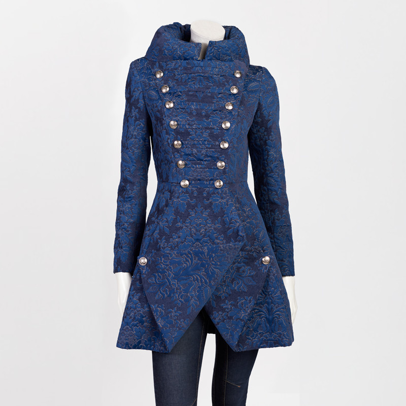 ROYAL COAT IN BLUE