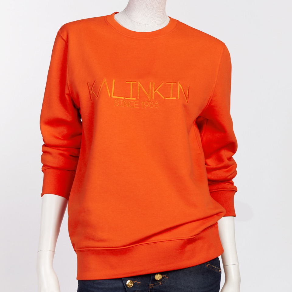 SINCE 1988 SWEATSHIRT, ORANGE