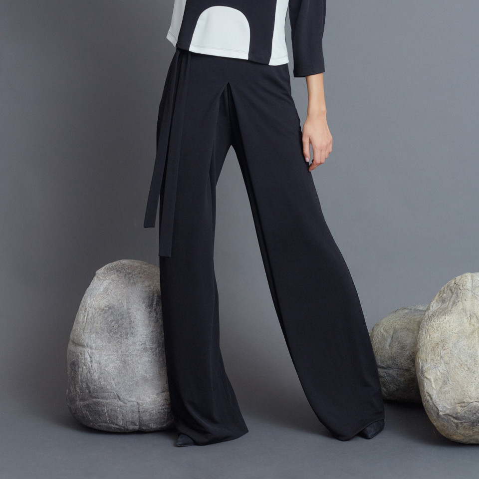 FREEFLOW BLACK TROUSERS, LIGHT