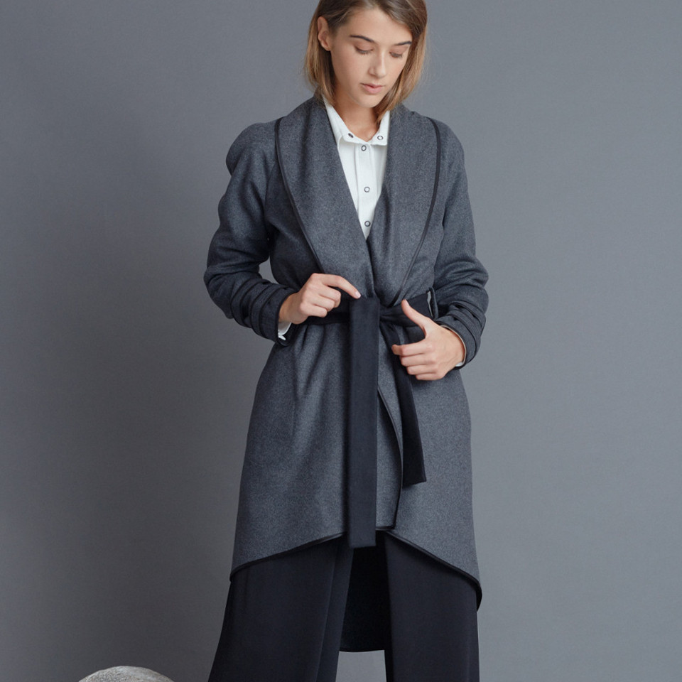 LOW HEAT CARDIGAN, GREY