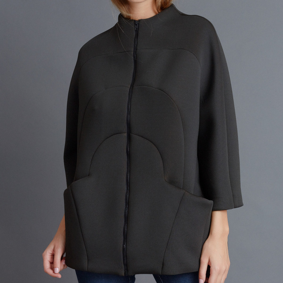 DIFFERENT STORIES JACKET, BLACK