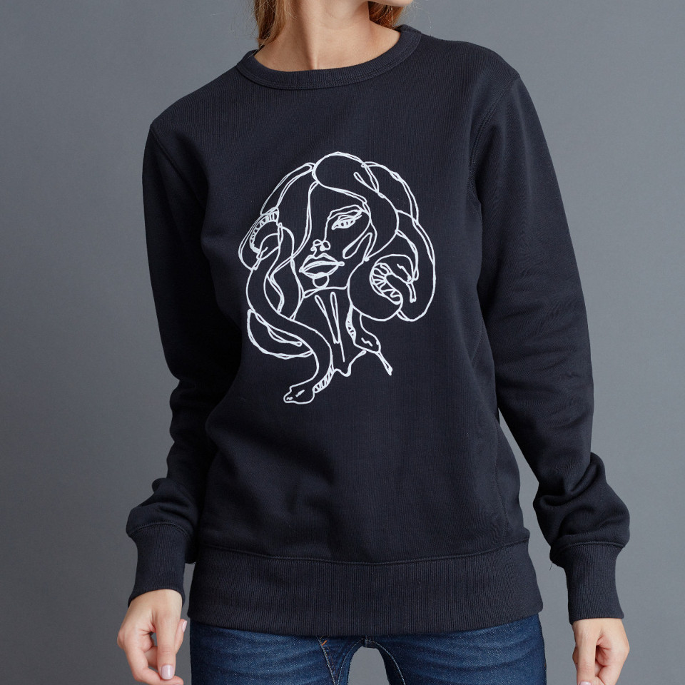 MEDUSA JUMPER, BLACK