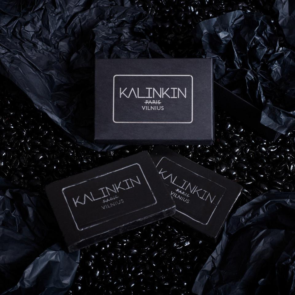 KALINKIN VILNIUS SOAP, BLACK
