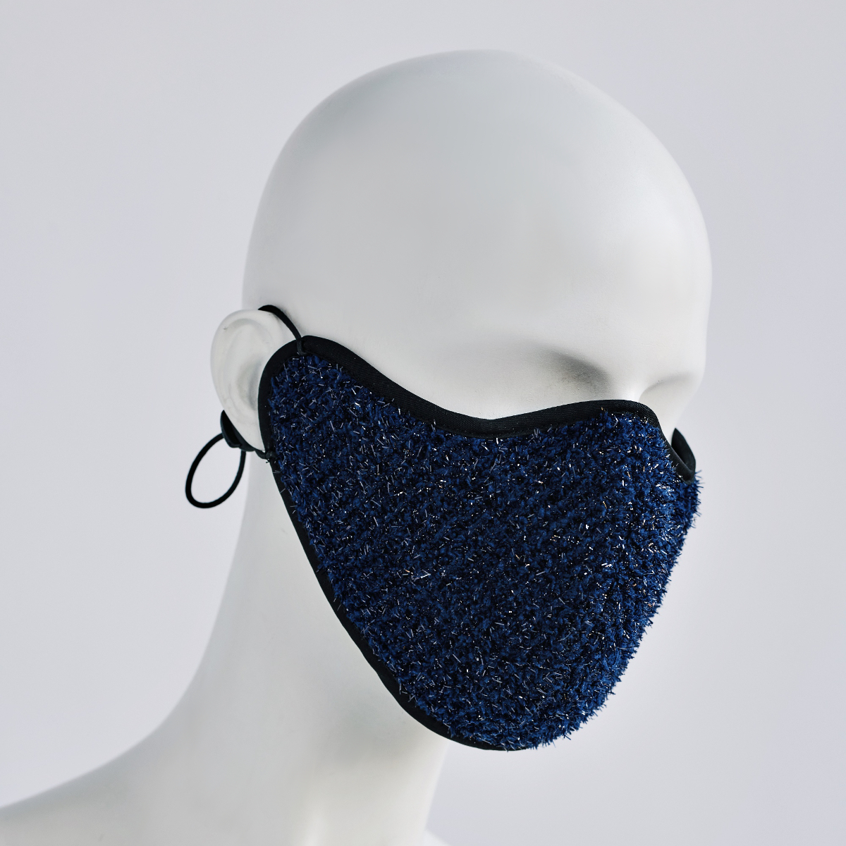 KEEP YOUR DISTANCE MASK IN SAPPHIRE