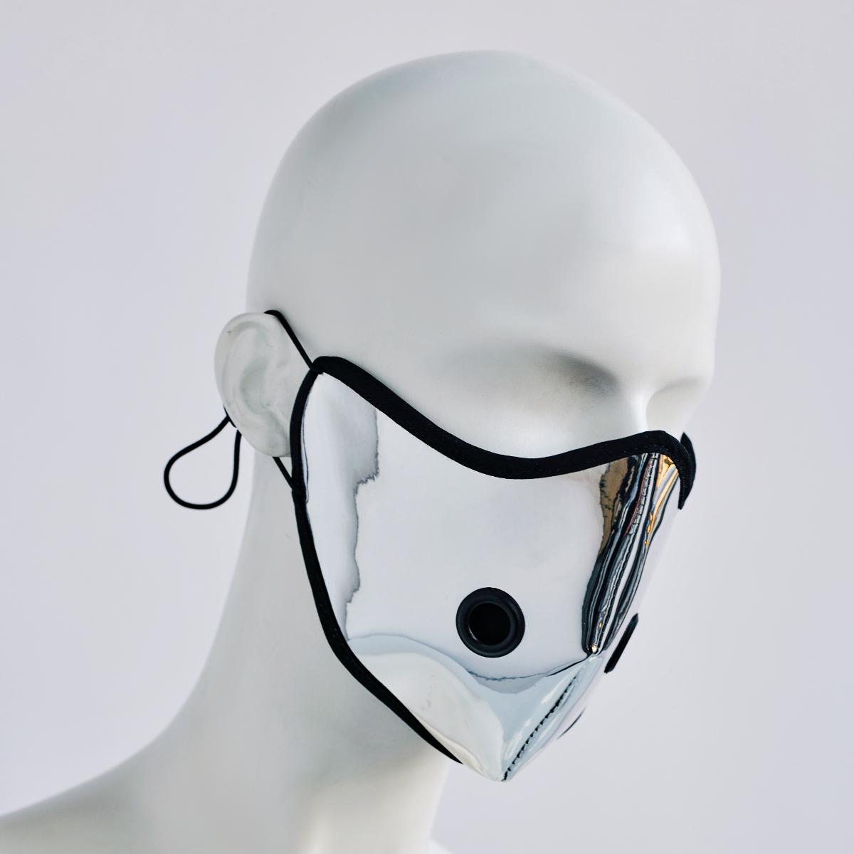 KEEP YOUR DISTANCE MASK IN SILVER