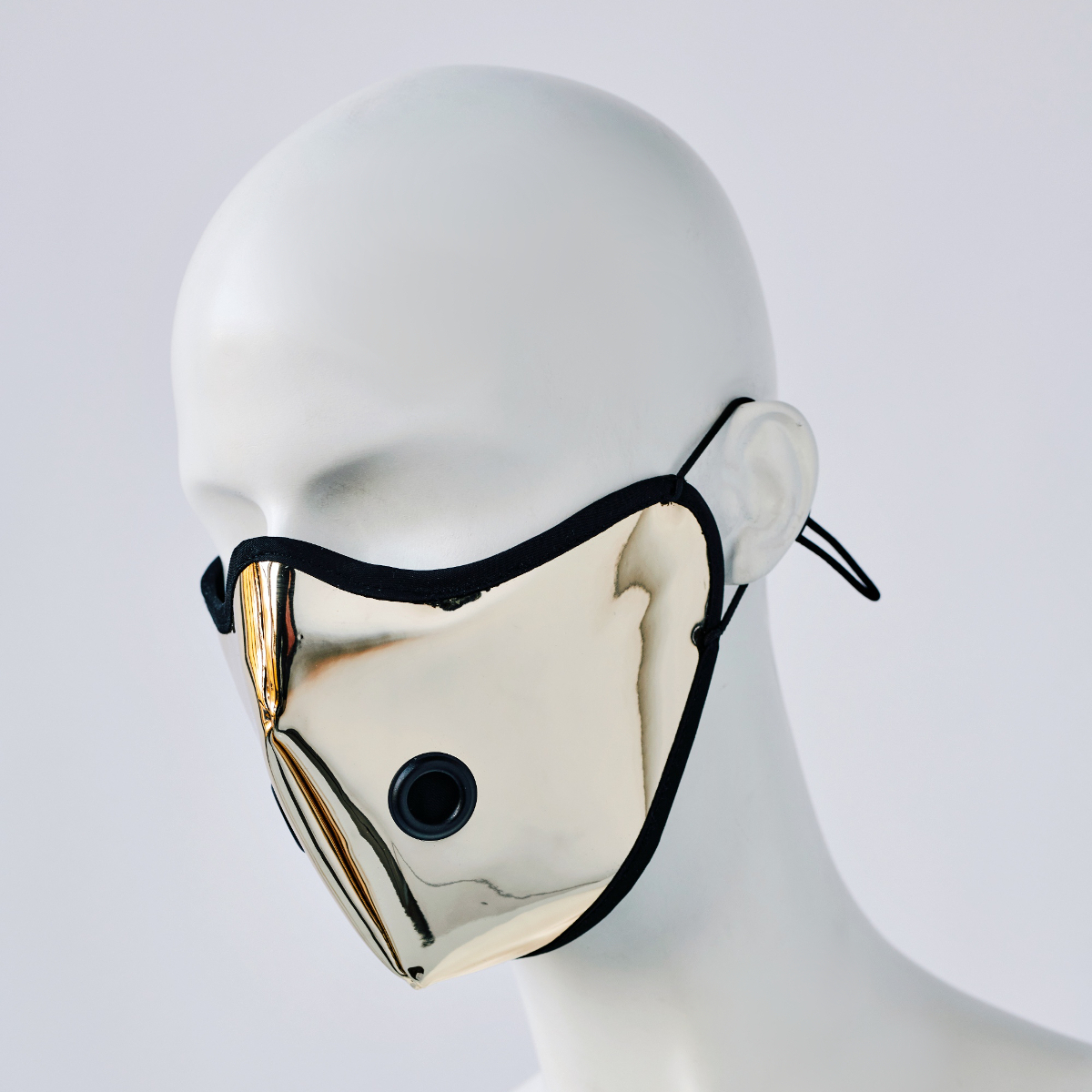 KEEP YOUR DISTANCE MASK IN GOLD