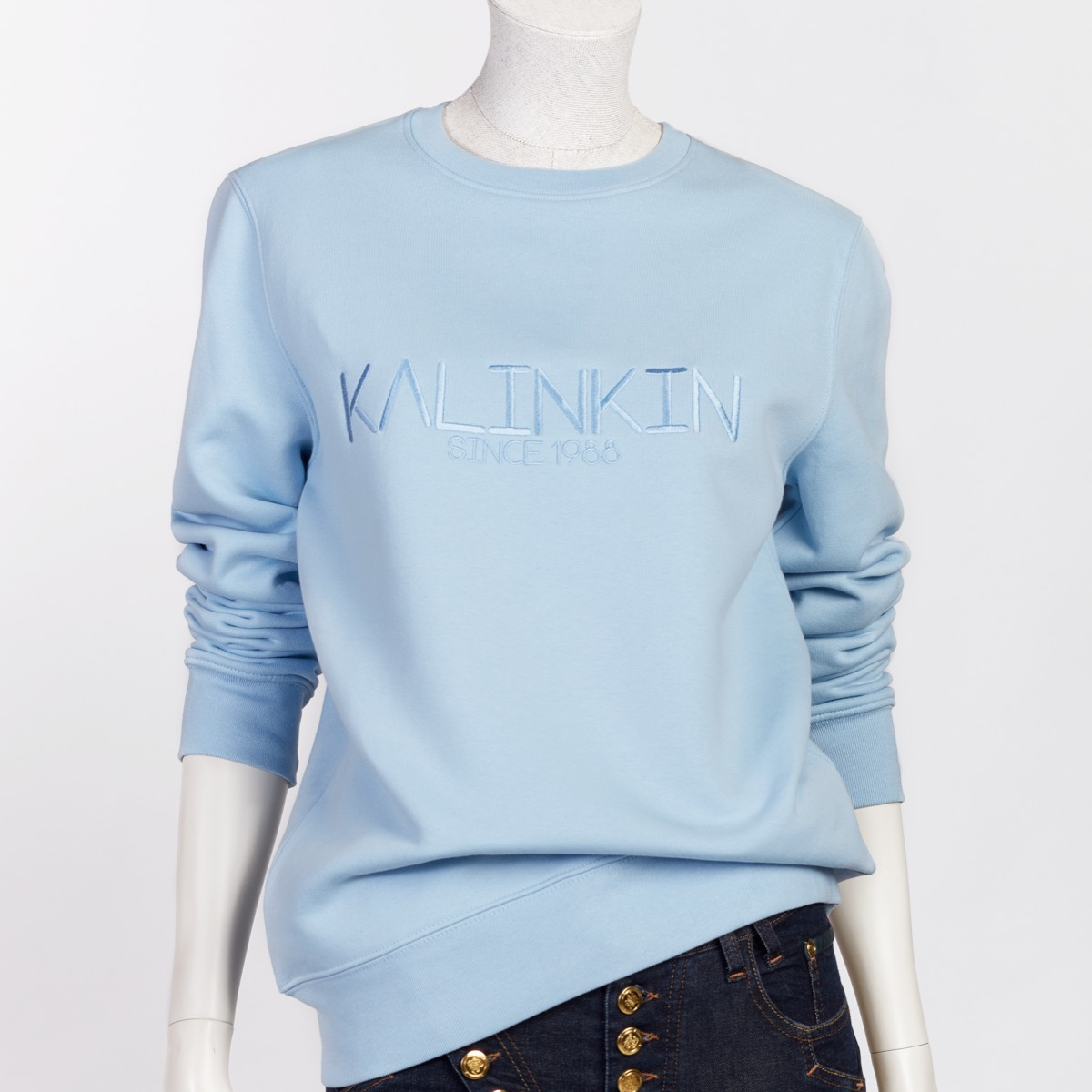 SINCE 1988 SWEATSHIRT, LIGHT BLUE