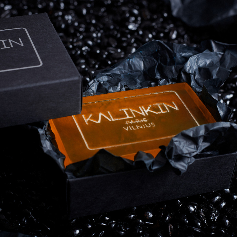 KALINKIN VILNIUS SOAP, ORANGE