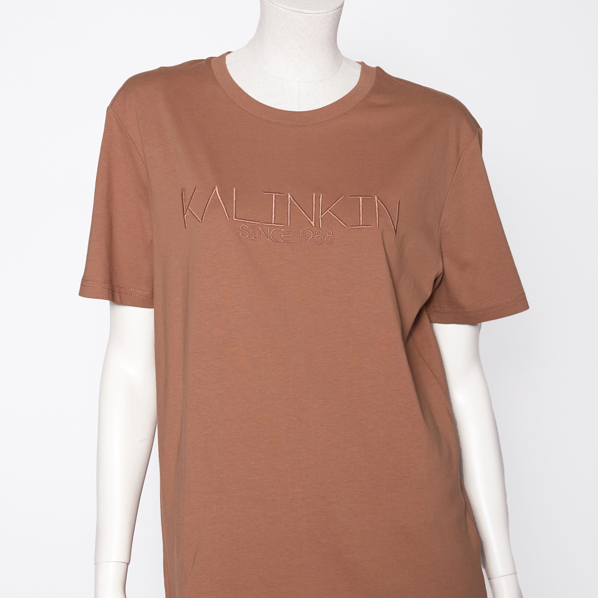 SINCE 1988 T-SHIRT, BROWN