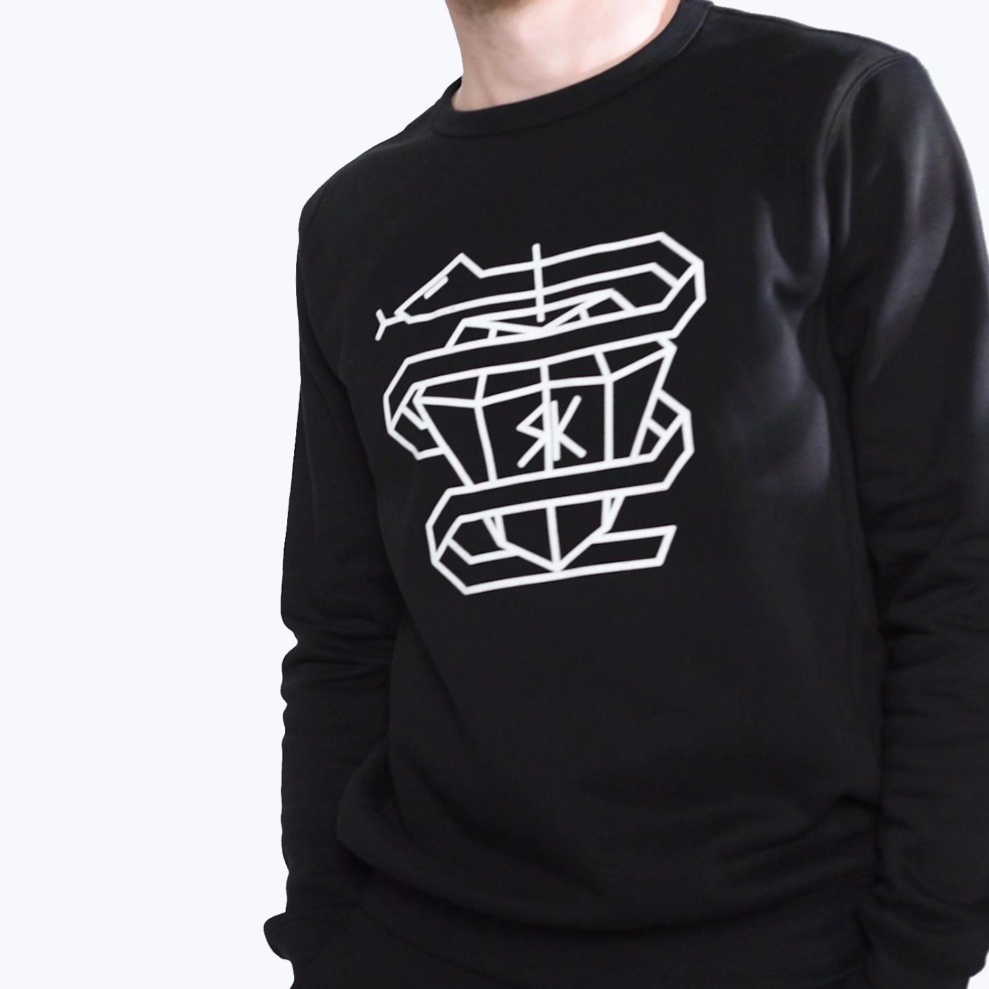 IT'S KALINKIN JUMPER - BLACK, UNISEX