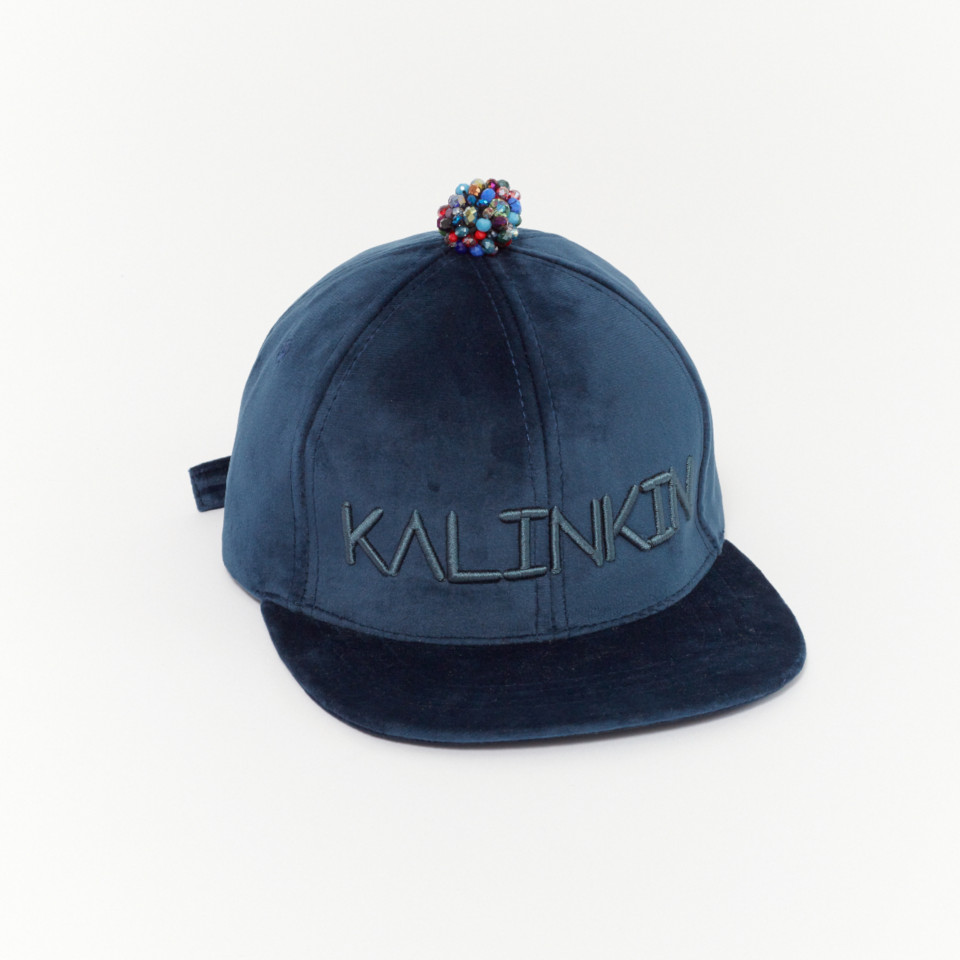 IT'S KALINKIN cap - royal blue