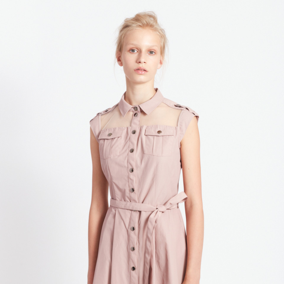 RAINFOREST DRESS, PINK