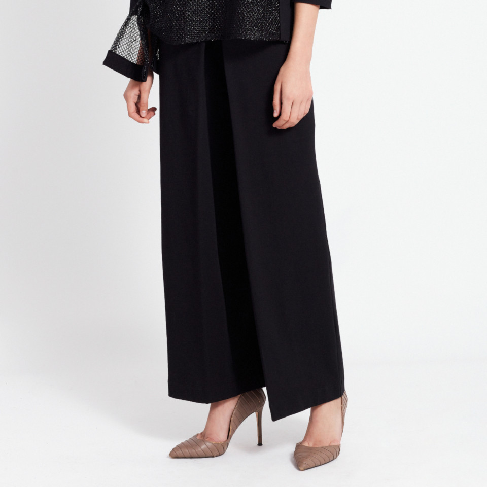 CASSINI TROUSERS, BLACK