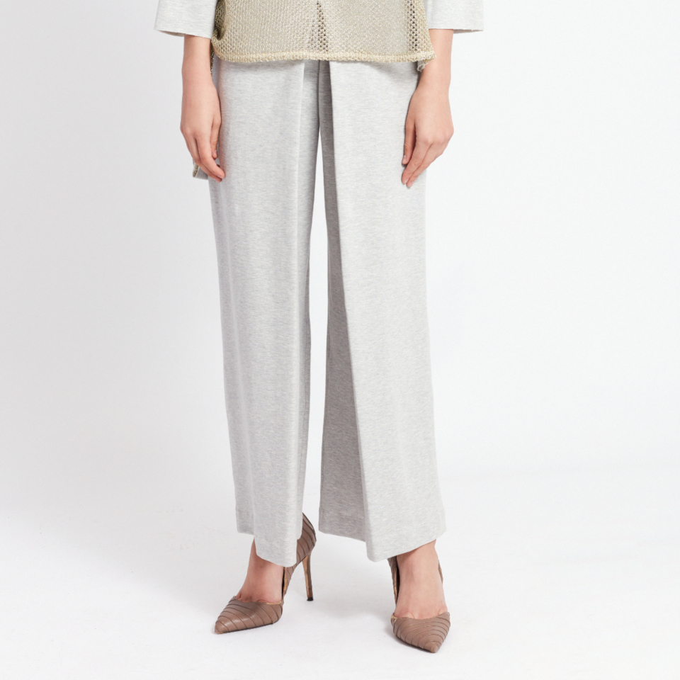 CASSINI TROUSERS, GREY