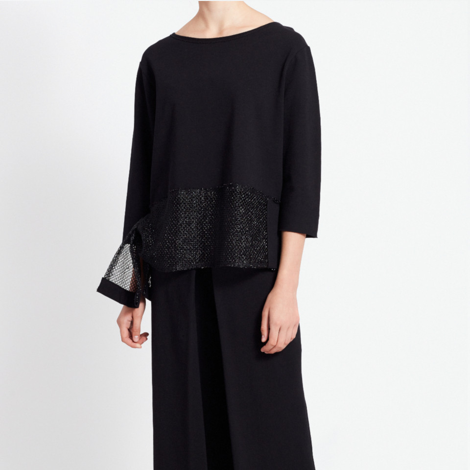 CASSINI JUMPER, BLACK