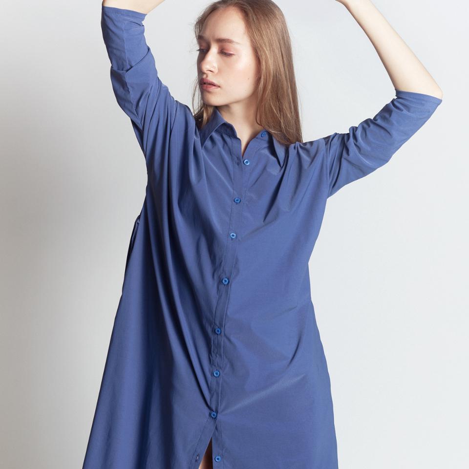 INTERSTATE SHIRT, BLUE