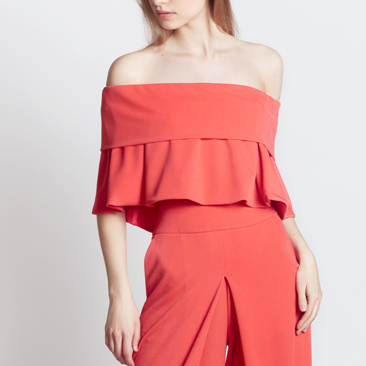 LILY OF VALLEY TOP, CORAL
