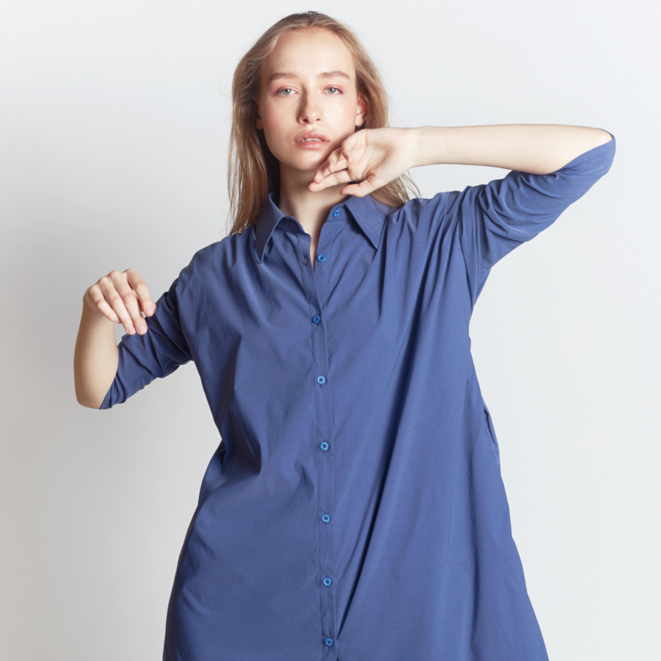 INTERSTATE SHIRT, BLUE