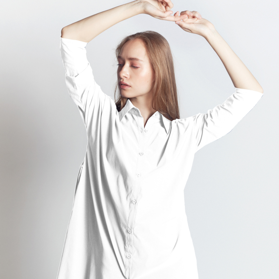 INTERSTATE SHIRT, WHITE
