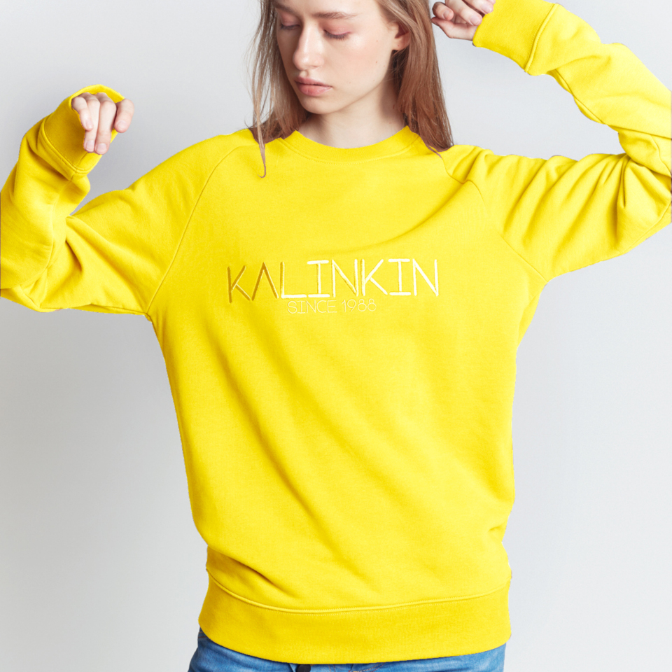SINCE 1988 SWEATSHIRT, YELLOW