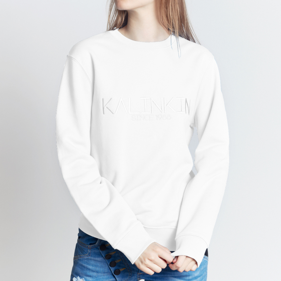 SINCE 1988 SWEATSHIRT, WHITE