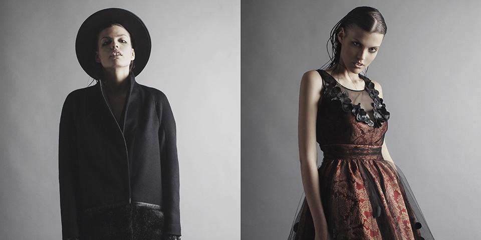 ROBERT KALINKIN AUTUMN / WINTER 2015/16' collection at Paris fashion week