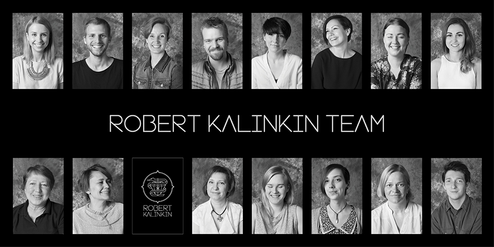 Meet Robert Kalinkin Team