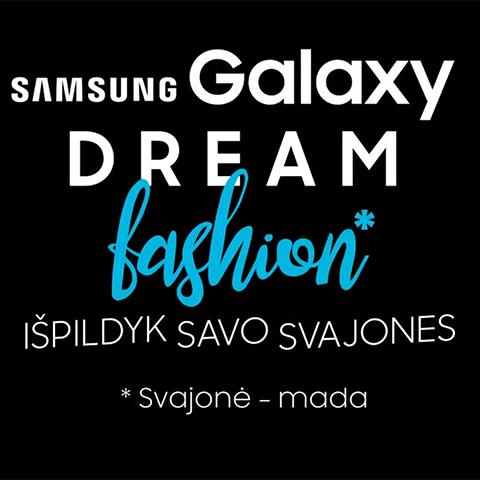 Make your dreams come true with Samsung!