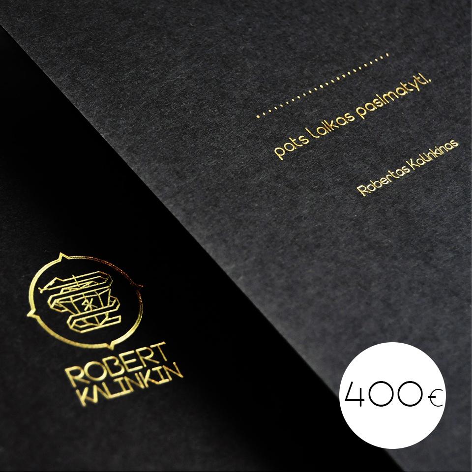 400€ gift card