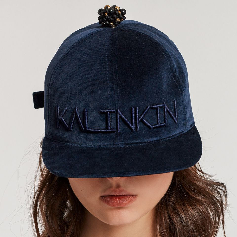 IT's KALINKIN basebal cap - royal blue