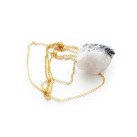 StoneHeart - a luxurious smoky quartz necklase
