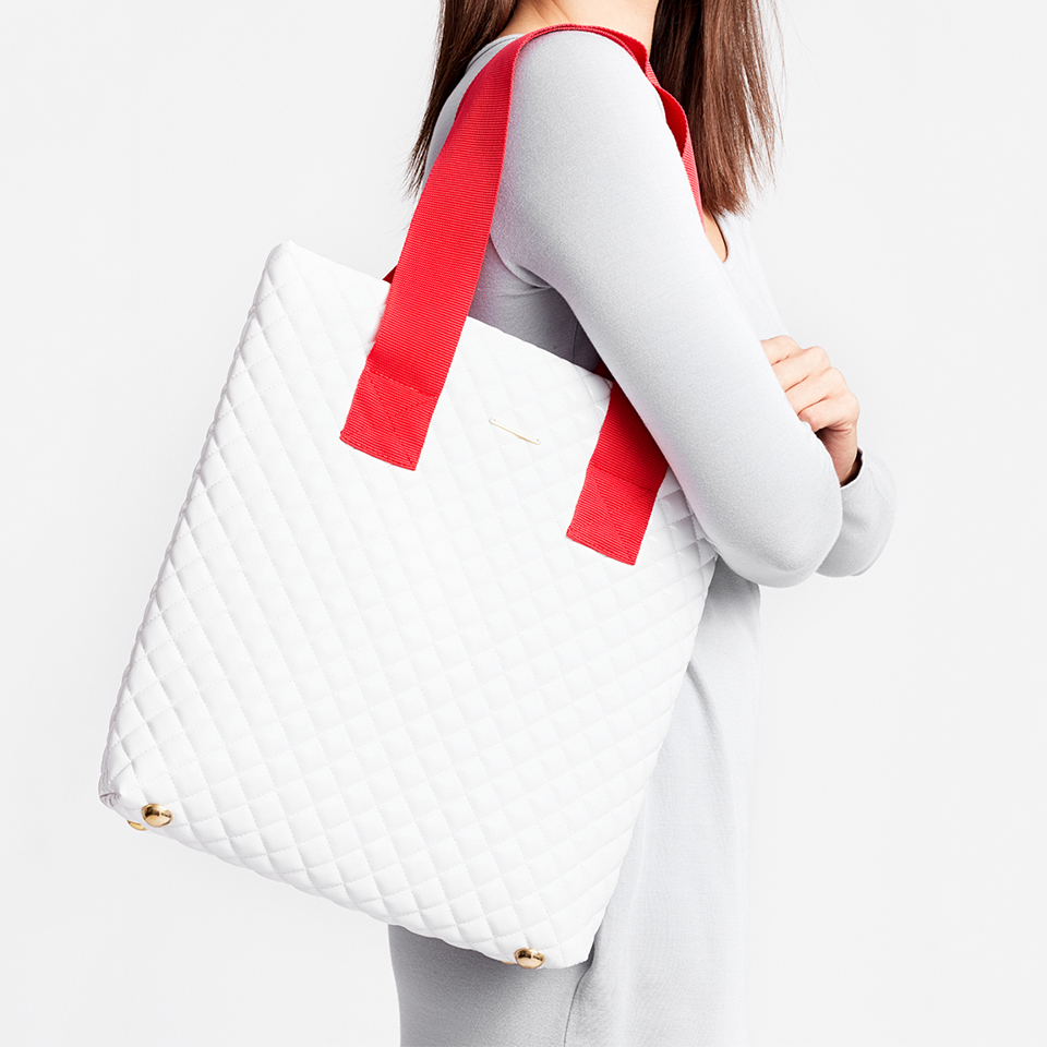 CUT THE TIES BAG - white