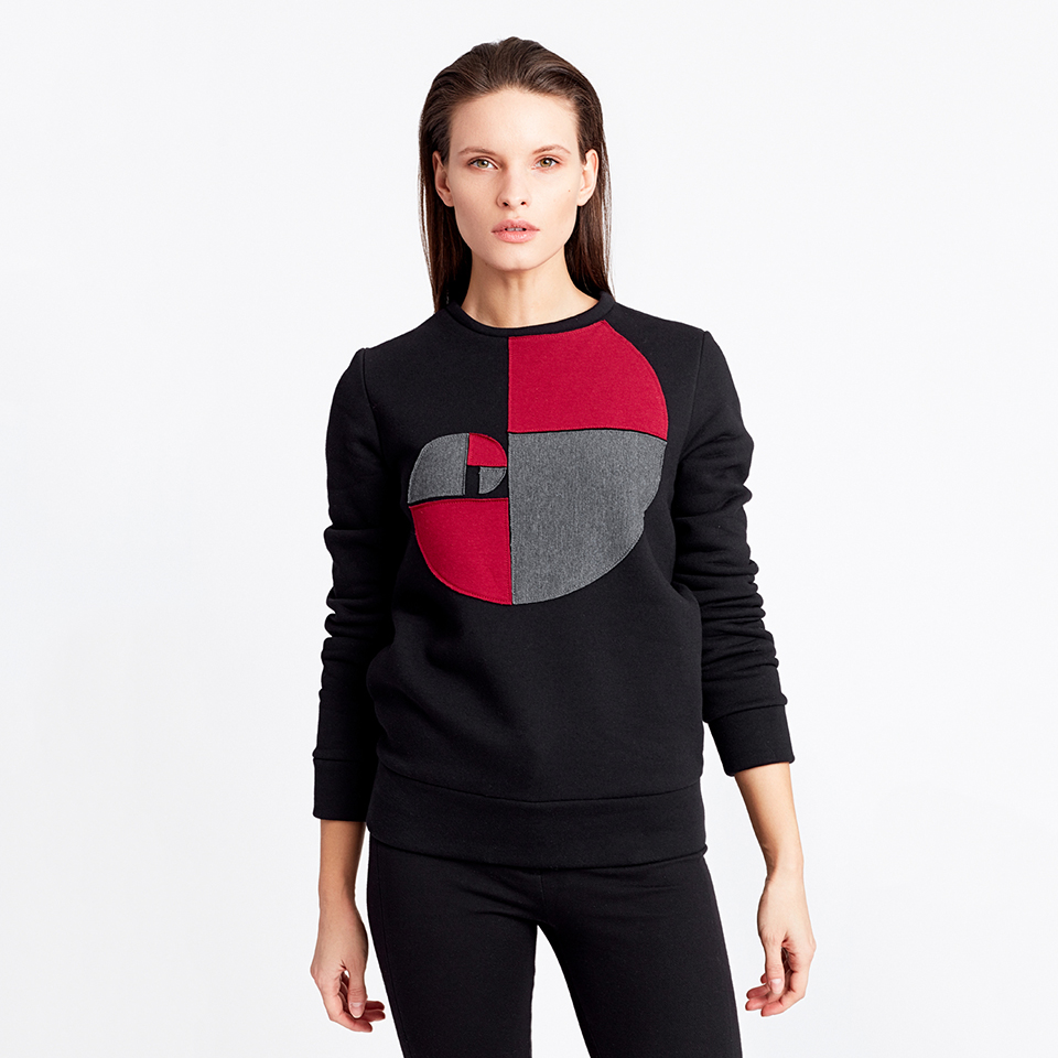 FULL CIRCLE JUMPER - black