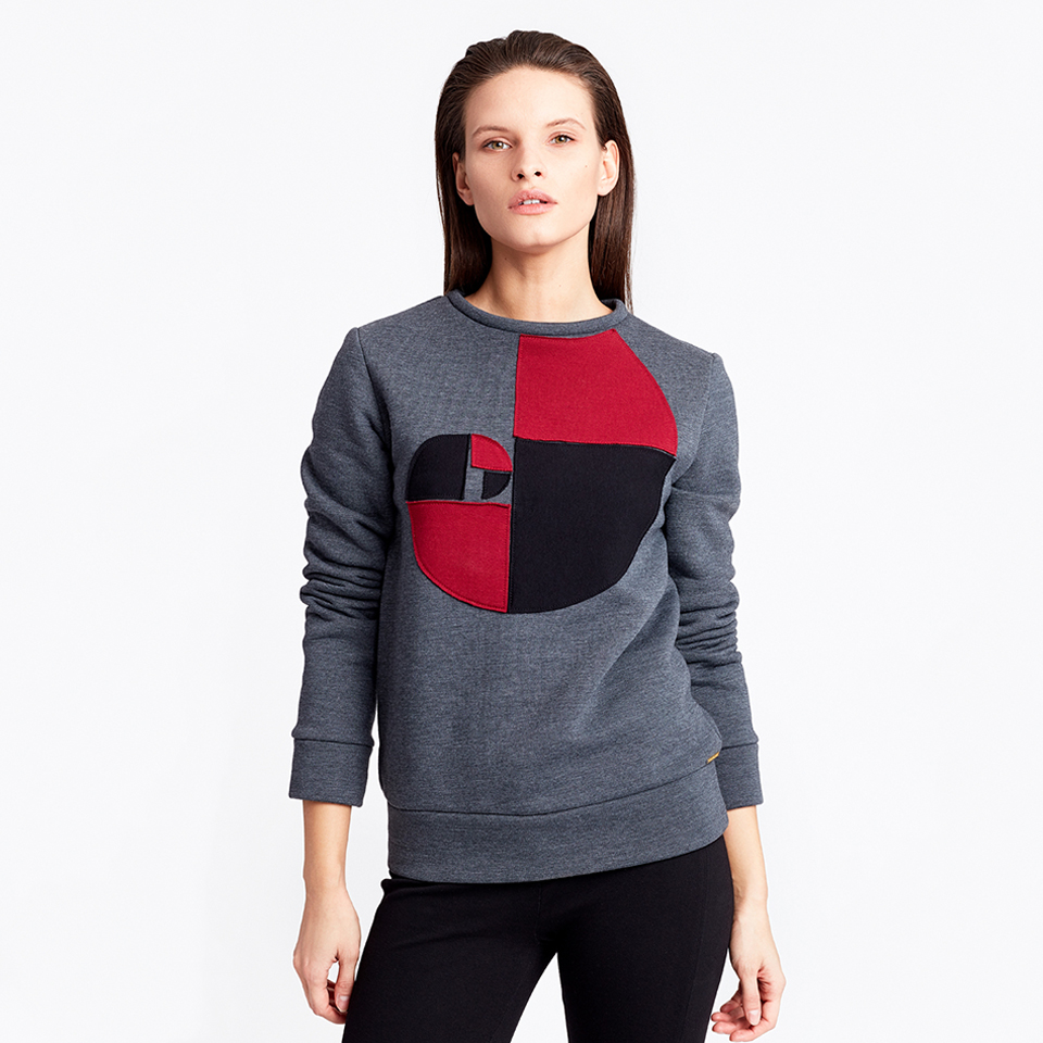 FULL CIRCLE JUMPER - grey