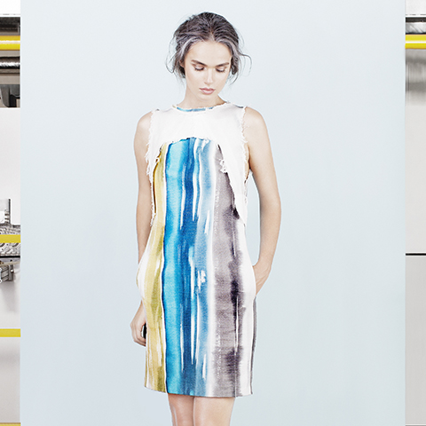 Melting Glass dress
