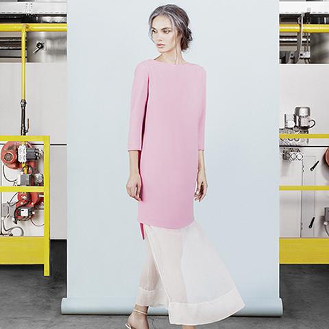 Ten Tigers Dress - soft pink