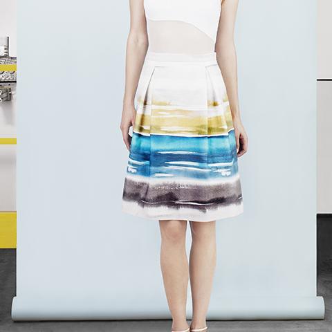 Summer Storm skirt