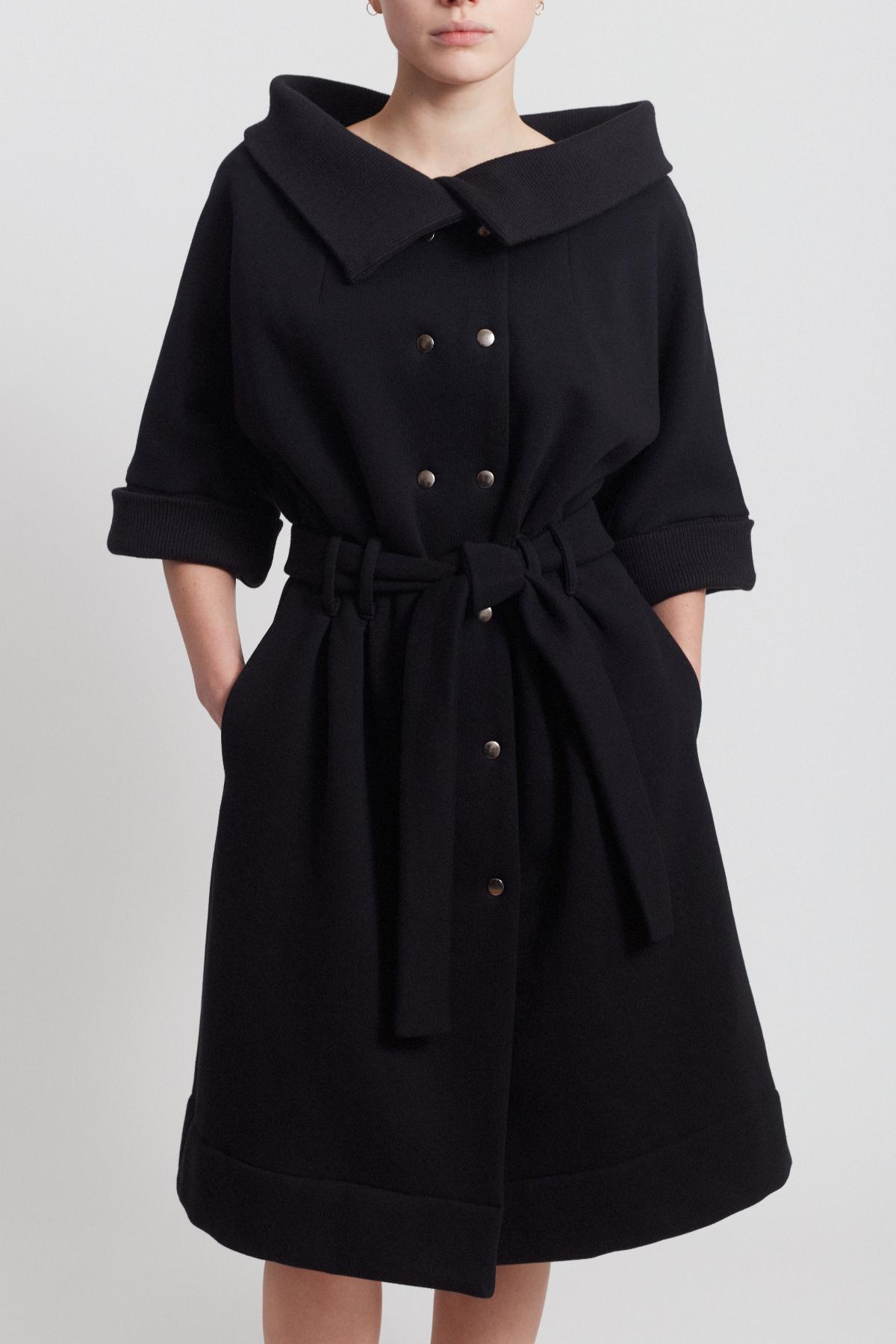 WINTER FELLING DRESS, BLACK